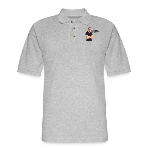 A Phil Svitek Podcast Logo FULL Design - Men's Pique Polo Shirt