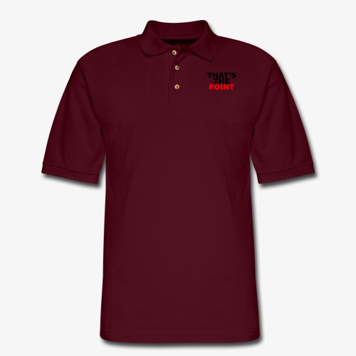 That's The Point - Men's Pique Polo Shirt