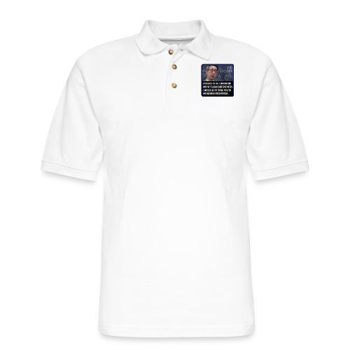 On behalf of the Commandant... - Men's Pique Polo Shirt