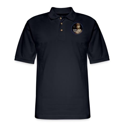Foch: I Attack - Men's Pique Polo Shirt
