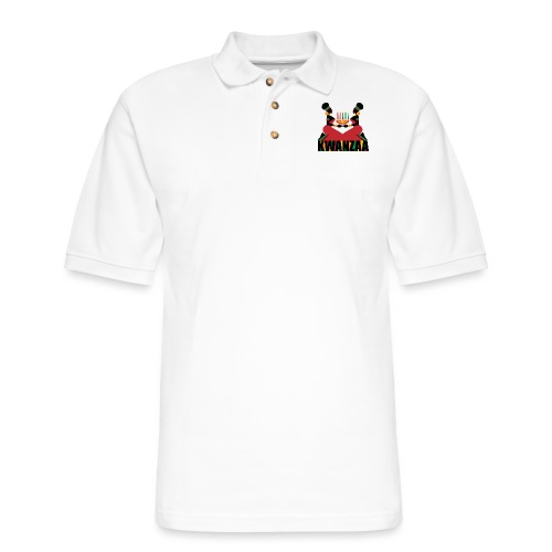 Kwanzaa - Men's Pique Polo Shirt