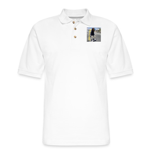 lettucejuuice 2400 album cover design - Men's Pique Polo Shirt