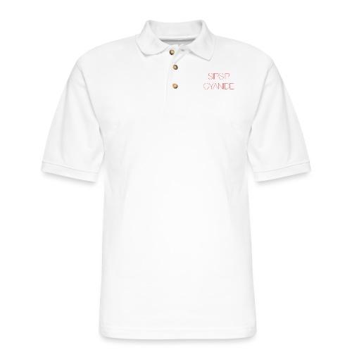 Sipsip Cyanide - Men's Pique Polo Shirt