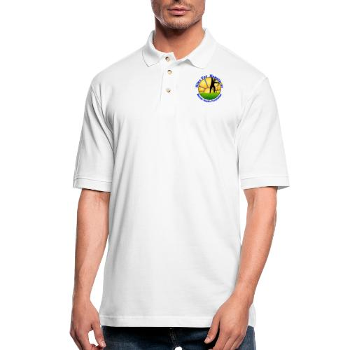 Hike Tops & Buttons - Men's Pique Polo Shirt