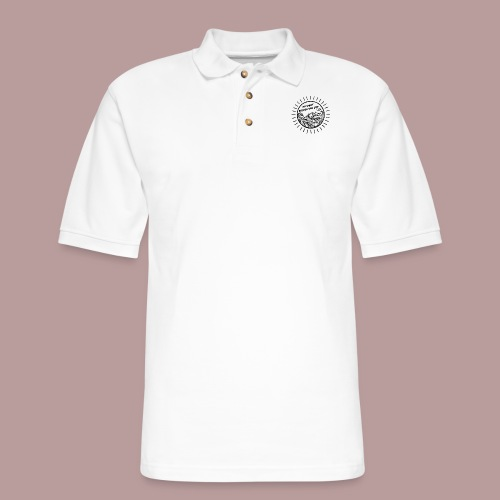Do what brings you joy - Men's Pique Polo Shirt