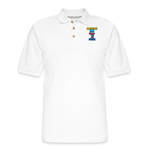 CONFIDENCE - Men's Pique Polo Shirt