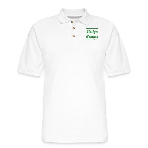 DESIGN COUTURE GREEN - Men's Pique Polo Shirt