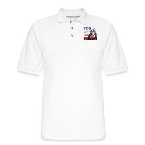 YOU Are The Gun Lobby - Men's Pique Polo Shirt