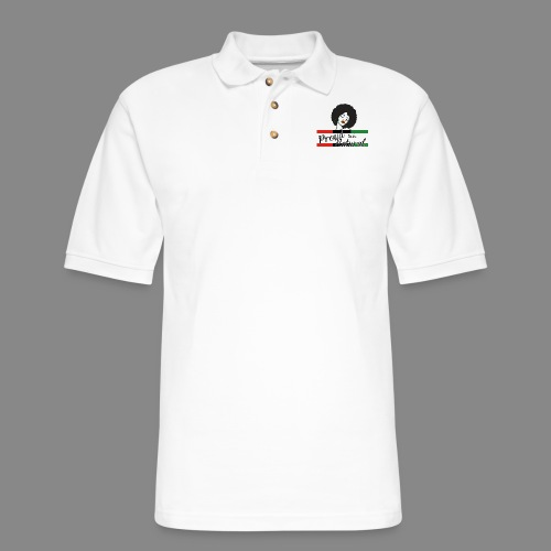 Proud To Be Natural - Men's Pique Polo Shirt