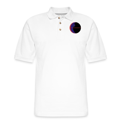 This Is Not A Moon - Men's Pique Polo Shirt