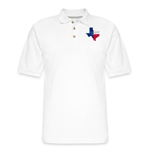 Drone Star State - Men's Pique Polo Shirt