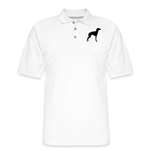 Italian Greyhound - Men's Pique Polo Shirt