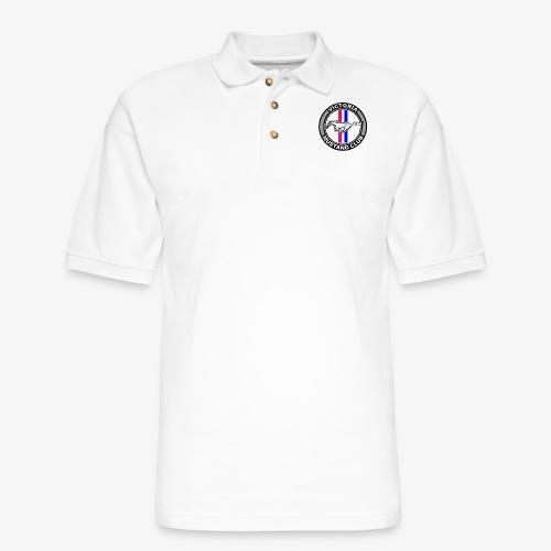 Victoria Mustang Club Logo - Men's Pique Polo Shirt