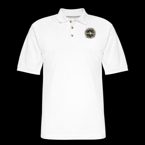 The Golden Blades Logo - Men's Pique Polo Shirt