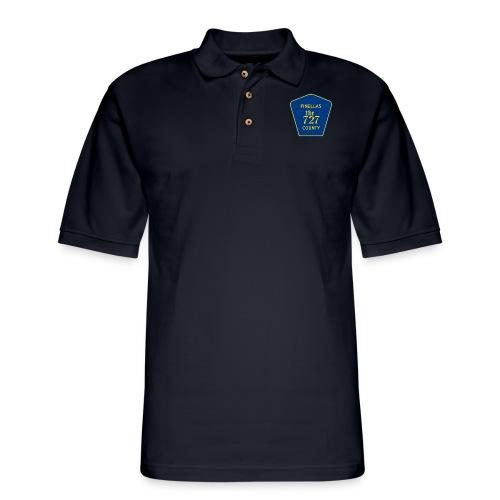 Pinellas the727 County tee - Men's Pique Polo Shirt