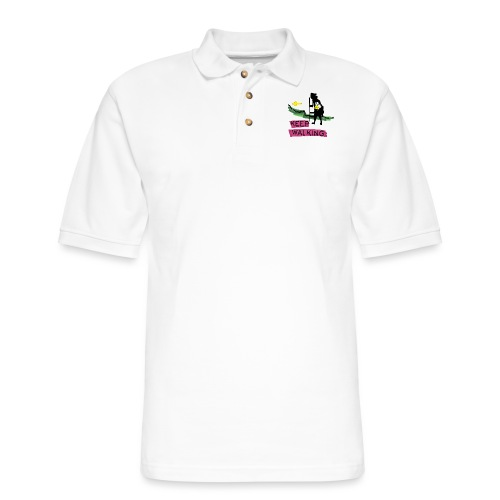 Keep walking buen camino sc t ss - Men's Pique Polo Shirt