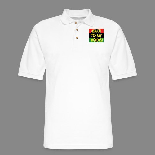 Back To My Roots - Men's Pique Polo Shirt
