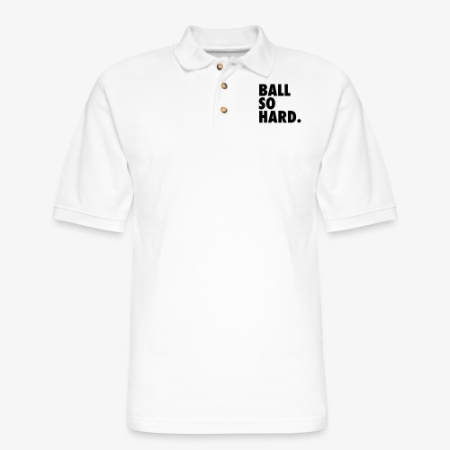 Ball So Hard - Men's Pique Polo Shirt