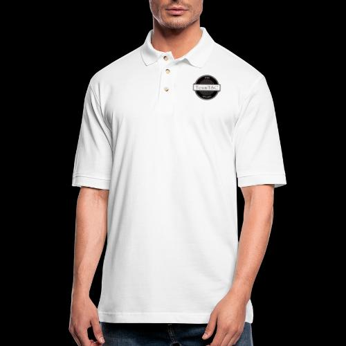 TeamTSC Badge - Men's Pique Polo Shirt