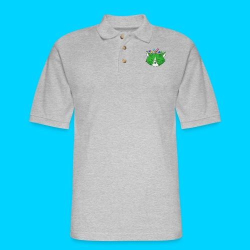 Fantastic Contraption III (no text) - Men's Pique Polo Shirt