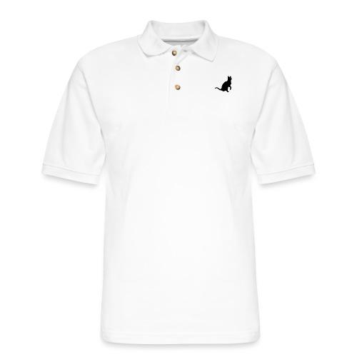 Real Men... - Men's Pique Polo Shirt