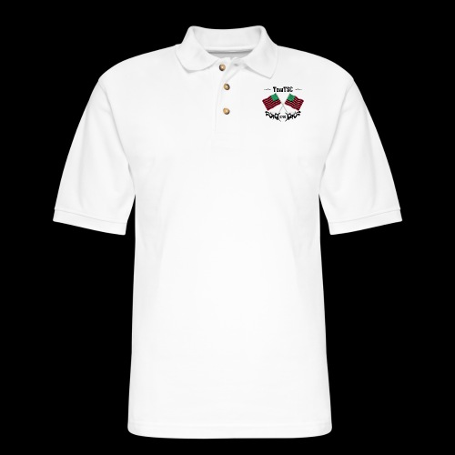 TSC 06 Flags - Men's Pique Polo Shirt