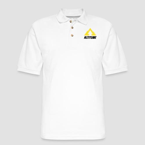 Empire Collection - Yellow 2 - Men's Pique Polo Shirt