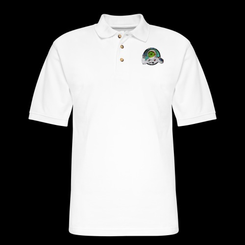 Spaceboy Music Logo - Men's Pique Polo Shirt