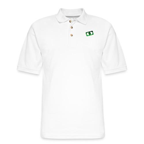 Bank3r - Men's Pique Polo Shirt