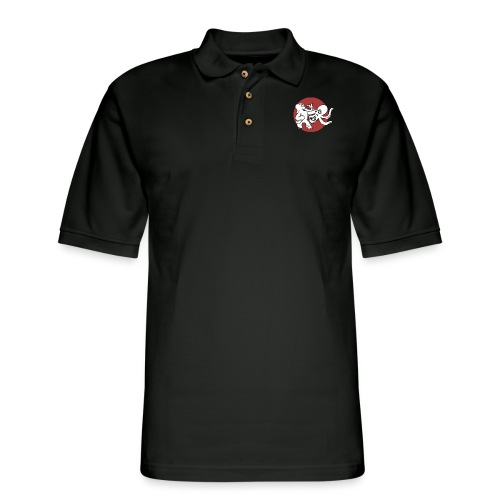 ElephantOctopusALT - Men's Pique Polo Shirt