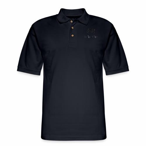 ABAPtoTheFuture - Men's Pique Polo Shirt
