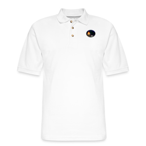 'Round the Campfire - Men's Pique Polo Shirt