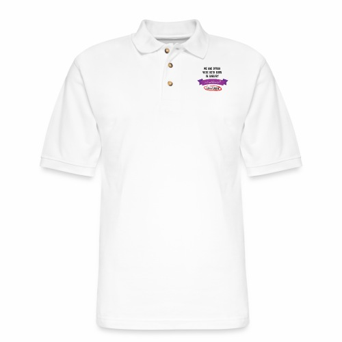 Me And Oprah Were Both Born in January - Men's Pique Polo Shirt