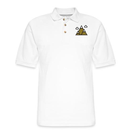 The Mountains - Men's Pique Polo Shirt