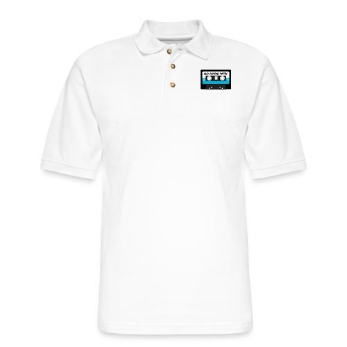 Cassette - Old School Metal - Men's Pique Polo Shirt