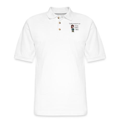 happy - Men's Pique Polo Shirt