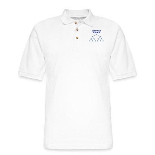 Binary Search Tree - Men's Pique Polo Shirt