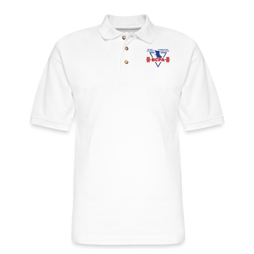 BCPA Logo - Men's Pique Polo Shirt