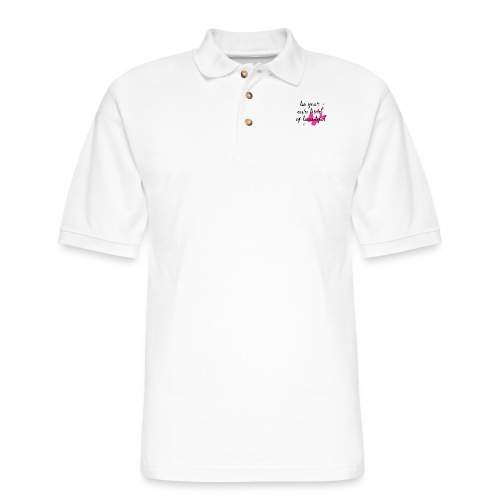 Be Your Own Beautiful - Men's Pique Polo Shirt