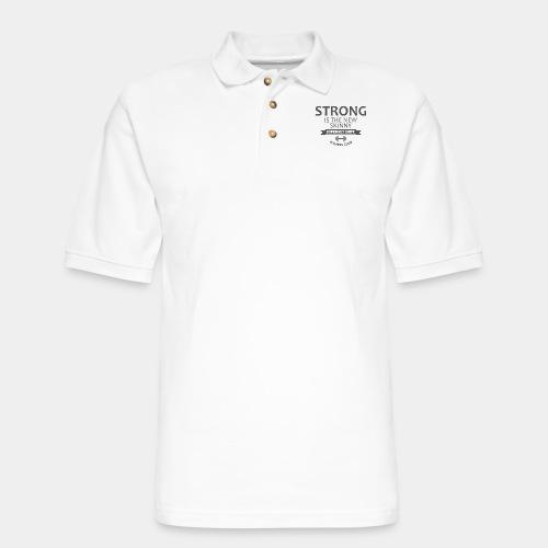 strong - Men's Pique Polo Shirt