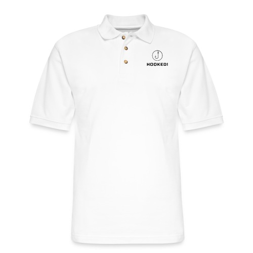 Hooked - Men's Pique Polo Shirt