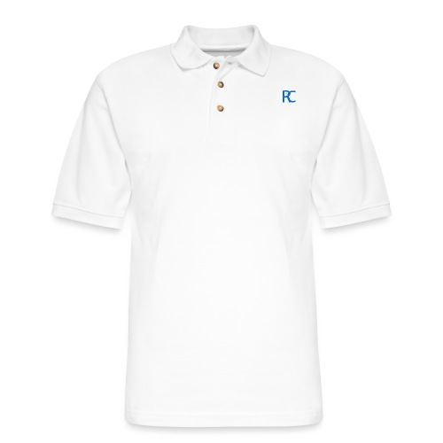 Blu REACH - Men's Pique Polo Shirt