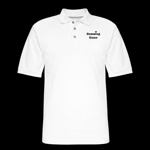 Question - Men's Pique Polo Shirt