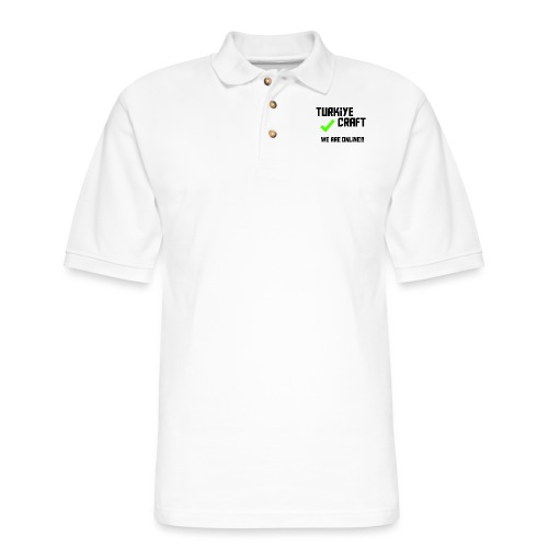 we are online boissss - Men's Pique Polo Shirt