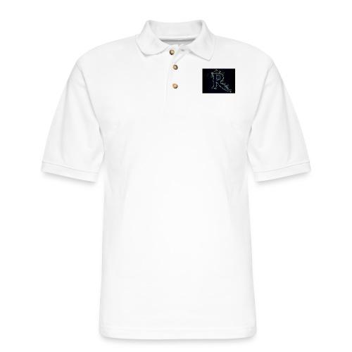 445 pin - Men's Pique Polo Shirt