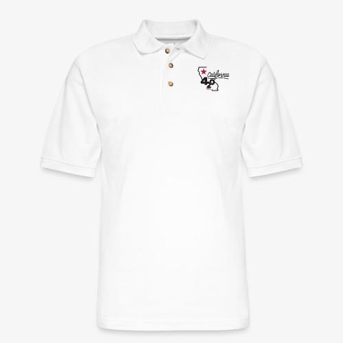 California 420 - Men's Pique Polo Shirt