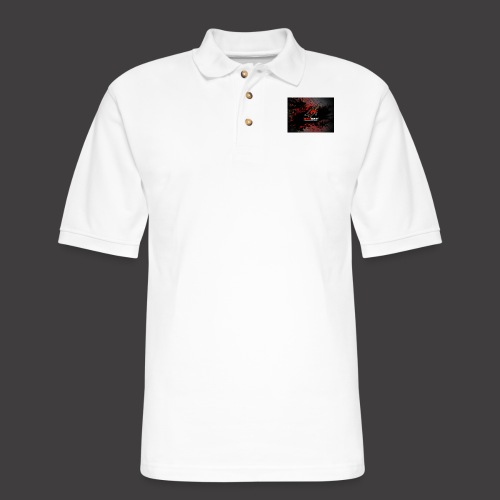 RedOpz Splatter - Men's Pique Polo Shirt