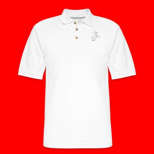 OxyGang: LSD Molecule Products - Men's Pique Polo Shirt