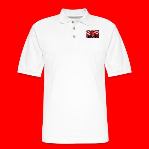 Oxygang: End The War - Men's Pique Polo Shirt