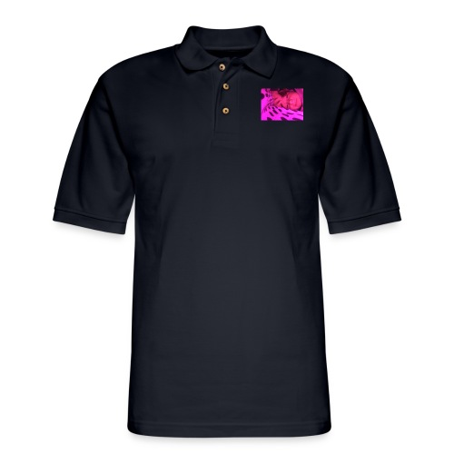 Purple under my bed - Men's Pique Polo Shirt